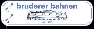 Bruderer Bahnen Inhaber Philipp Joss - Logo